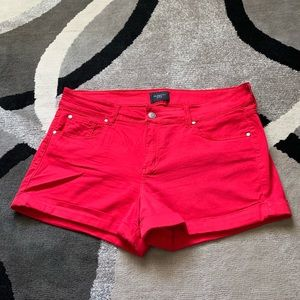 Celebrity Pink Red Shorts